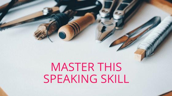speaking success