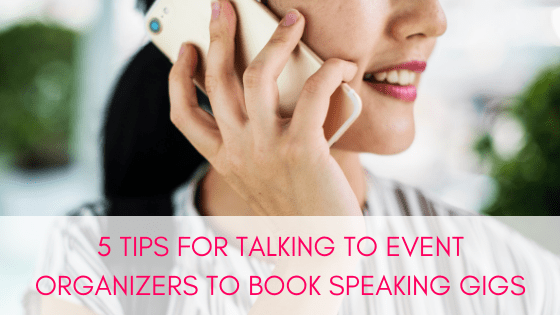If you want to make it easy for you to book paid speaking opportunities and make event organizers love you, follow these 5 tips.