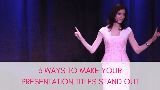 How to Create Catchy Presentation Titles