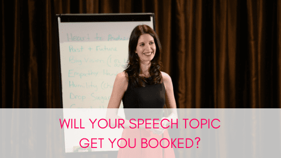 Speech topics matter!